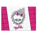 Sous mains rose et blanc - Monster High