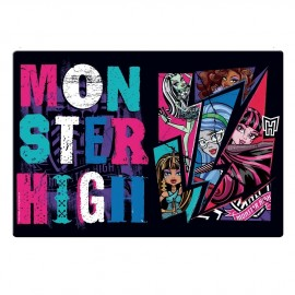 Sous mains noir - Monster High