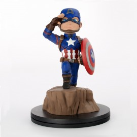 DC COMICS- Figurine Q-FIG CAPTAIN AMERICA CIVIL WAR 10cm