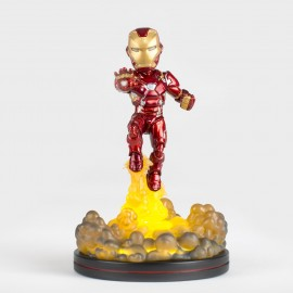 MARVEL- Figurine Q-FIG IRON MAN 9cm