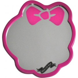 "Miroir rose ""Skull"" - Monster High"