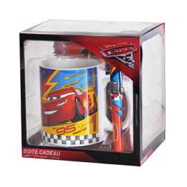 Coffret Cadeau Disney  Cars 3 - Mug + Stylo + Notebook