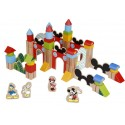 Disney - Blocs de construction en bois - 90 pcs