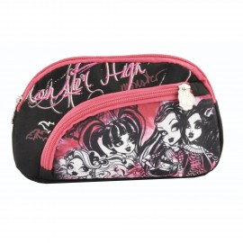Trousse 2 zips Monster High