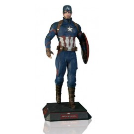Figurine taille réelle Captain America Civil War