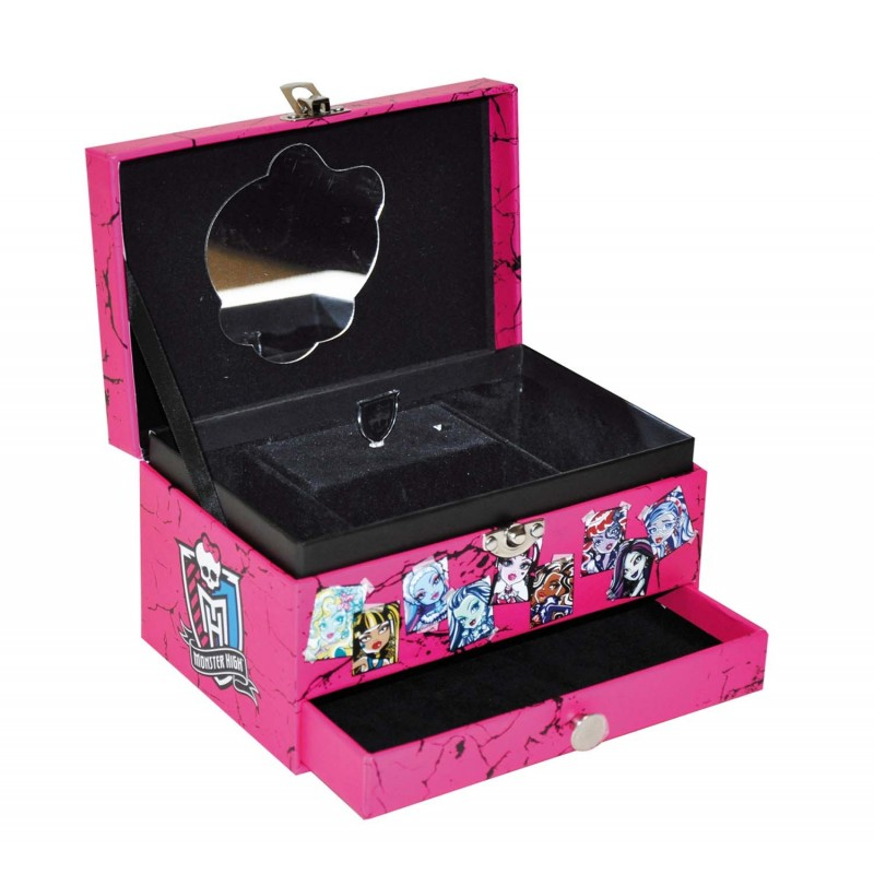 bo te bijoux musicale rose so cool monster high. Black Bedroom Furniture Sets. Home Design Ideas