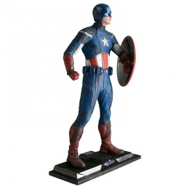 Figurine taille réelle Captain America - THE AVENGERS