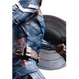 Figurine taille réelle Cap'tain America - THE WINTER SOLDIER