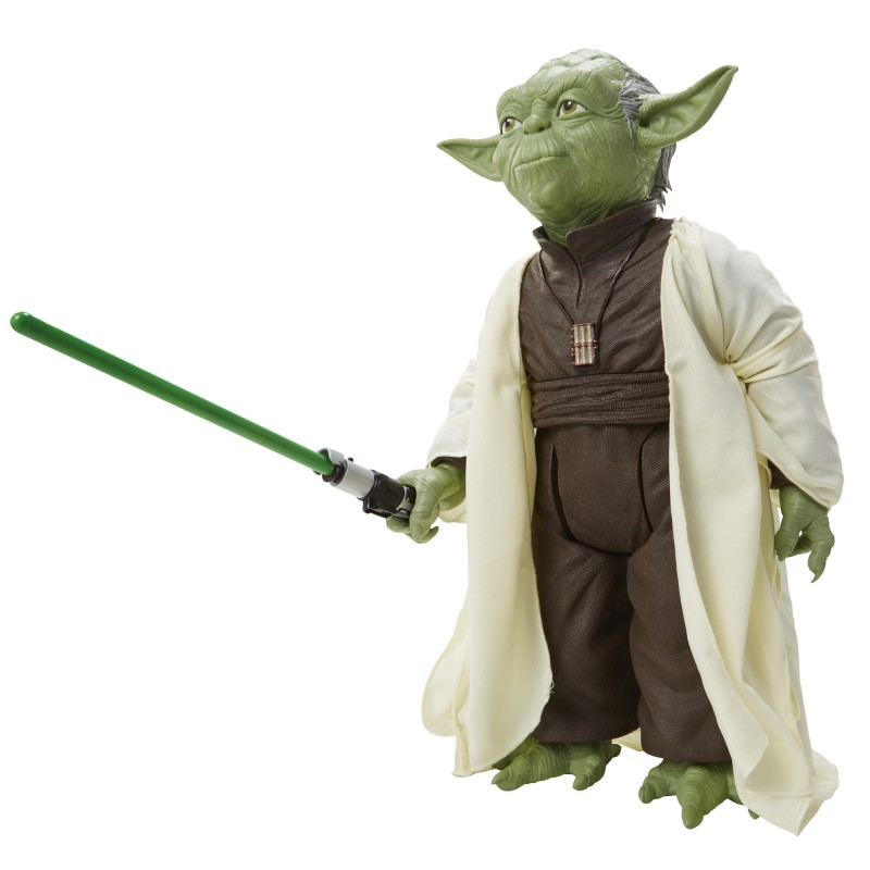 figurine maitre yoda 50 cm collector star wars. Black Bedroom Furniture Sets. Home Design Ideas